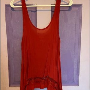 Free People Light Intimate Tank Top Size S